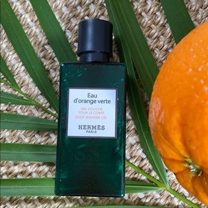13.5oz total Hermès Eau d'orange verte